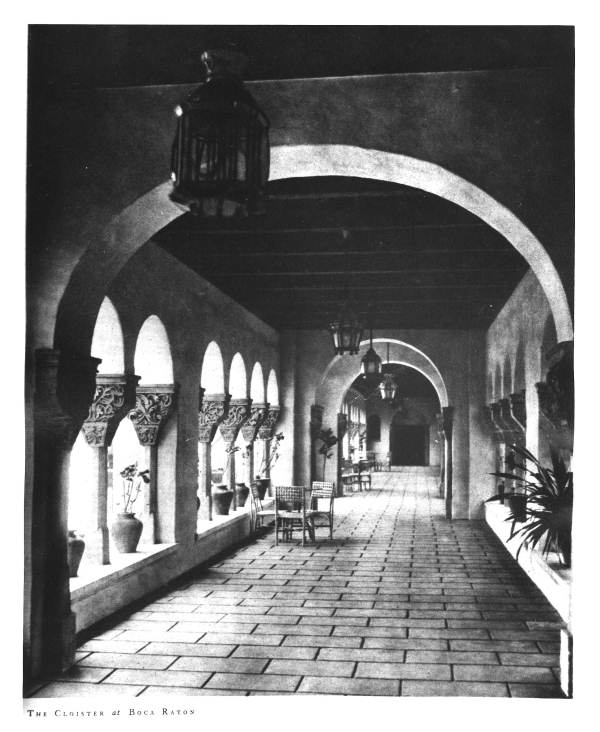 Vista of cloisters- Boca Raton, Florida.