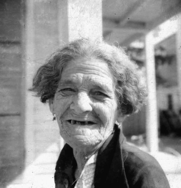 Unidentified old Cuban woman.