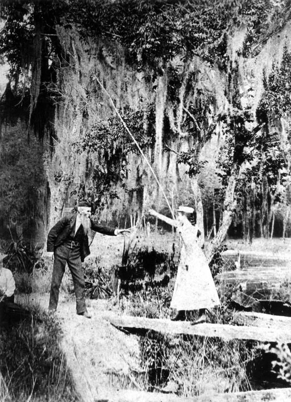 People fishing : Orlando, Florida.