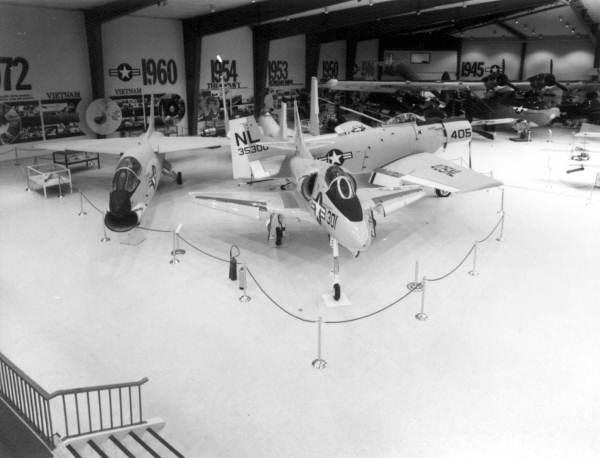 Interior of the Naval Aviation museum : Pensacola, Florida.