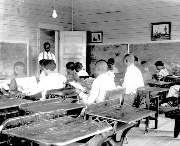 FERA adult education class : Pensacola, Florida.