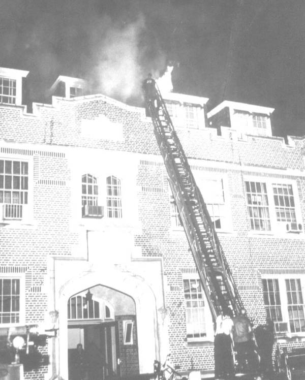 Fire at the Westcott Building - Florida State University.
