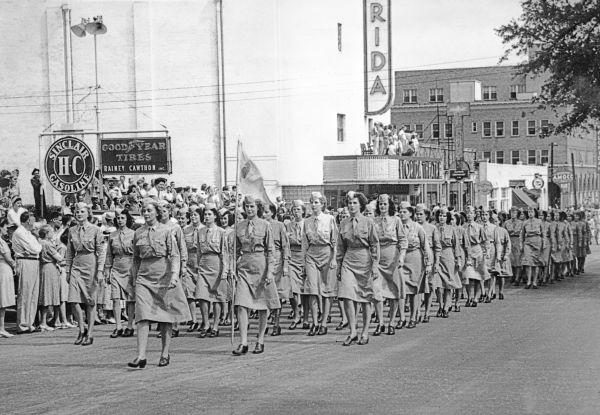 V-J Day parade - Tallahassee, Florida.