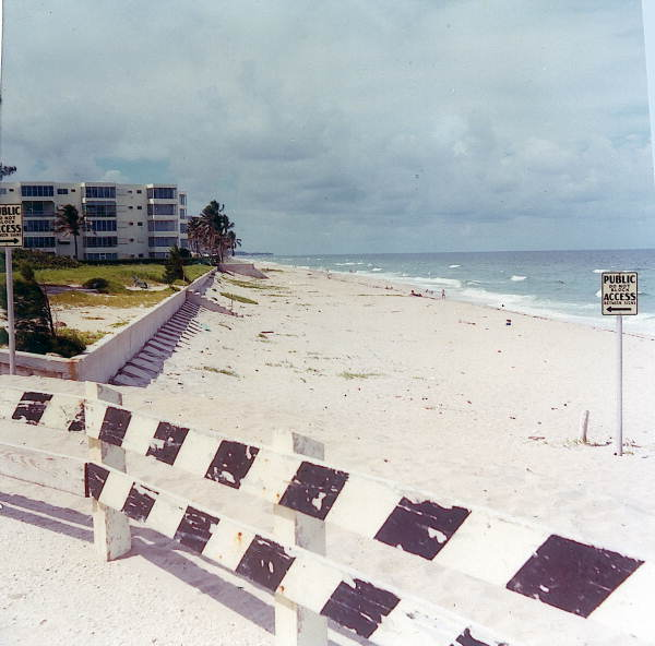 View showing beach in front of subject property..