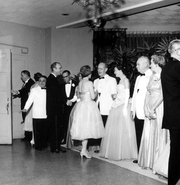 Receiving line in the Senate Presidents Ball at the Capital City Country Club - Tallahassee, Florida.