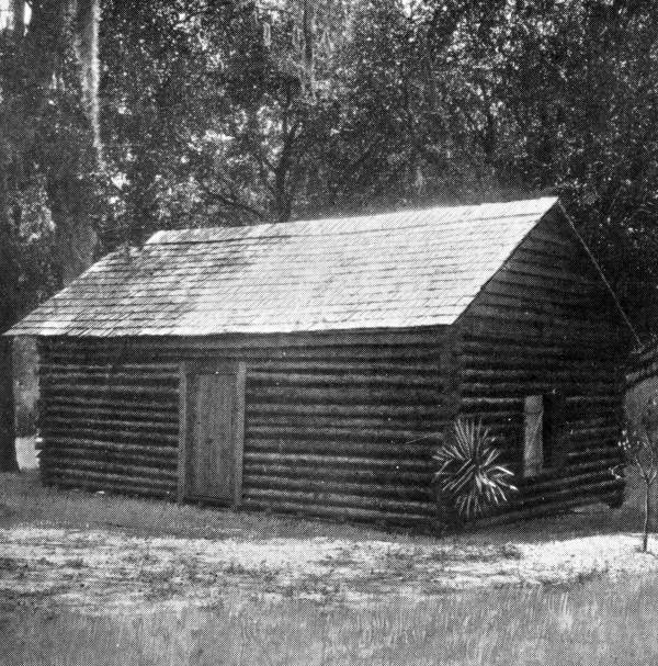 Replica of Florida's first Capitol - Tallahassee, Florida.