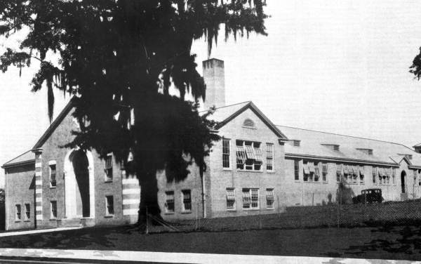 Lincoln High School at 438 West Brevard Street - Tallahassee, Florida.