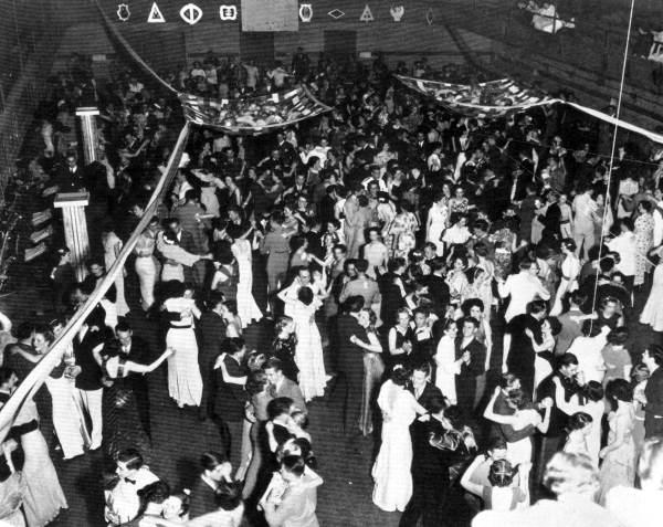 Panhellenic dance at FSCW - Tallahassee, Florida.