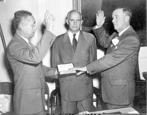 Scott D. Clarke being sworn in as Florida Senate President - Tallahassee, Florida.