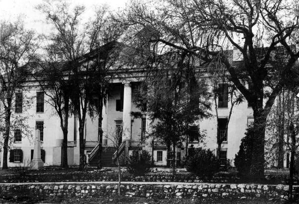 East front of the Old Capitol with cupola as it appeared between 1891 and 1901 - Tallahassee, Florida.