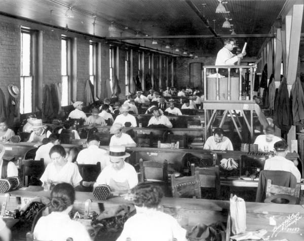 Interior view of the Cuesta-Rey Cigar Company - Tampa, Florida.