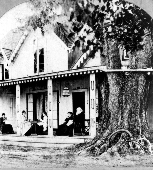 Home of Mrs. Harriet Beecher Stowe and family - Mandarin, Florida.