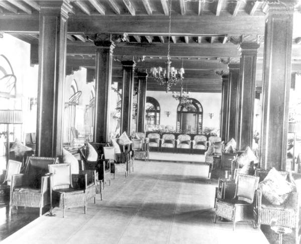 Lobby of the Casa Marina Hotel - Key West, Florida.