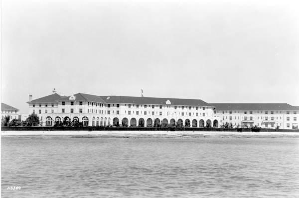 View of the Casa Marina Hotel - Key West, Florida.