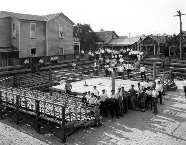 Cuban Club boxing arena - Tampa, Florida.