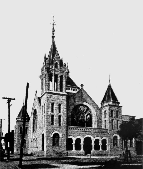 First Baptist Church building - Jacksonville, Florida.