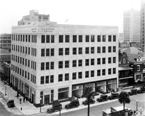 Florida Memory - Western Union building - Jacksonville, Florida