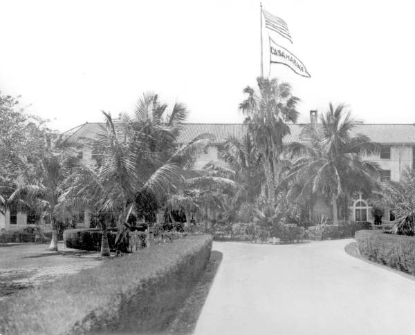 Entrance to the Casa Marina Hotel - Key West, Florida.