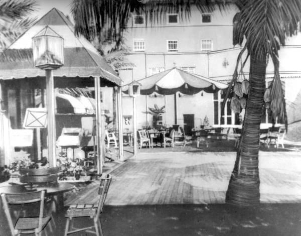 Dance patio at the Casa Marina Hotel - Key West, Florida.