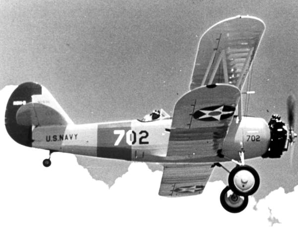 Plane from the Naval Air Station - Pensacola, Florida.