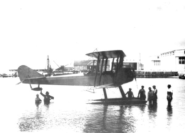 Seaplane built for the Navy by Standard Air Corporation - Pensacola, Florida.