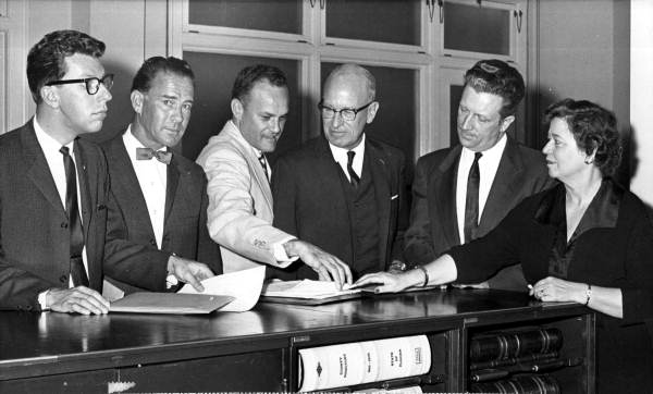 Republican candidates qualifying at the Secretary of State's office - Tallahassee, Florida.