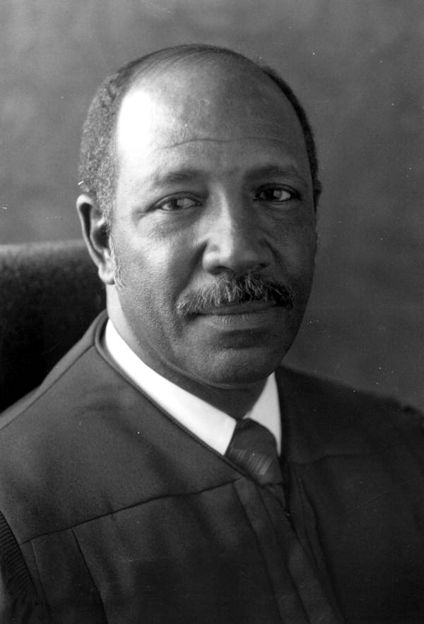 Portrait of Supreme Court Justice Leander J. Shaw Jr. - Tallahassee, Florida.