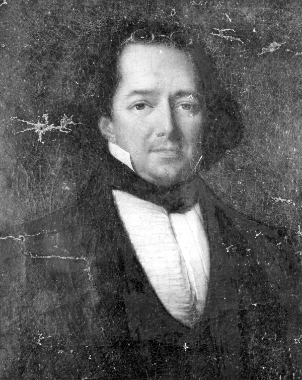 Painted portrait of Prince Achille Murat - Tallahassee, Florida