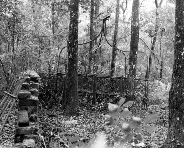 Graveyard at Verdura plantation - Tallahassee, Florida.