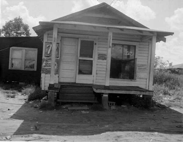 View of a juke joint - Jacksonville, Florida.