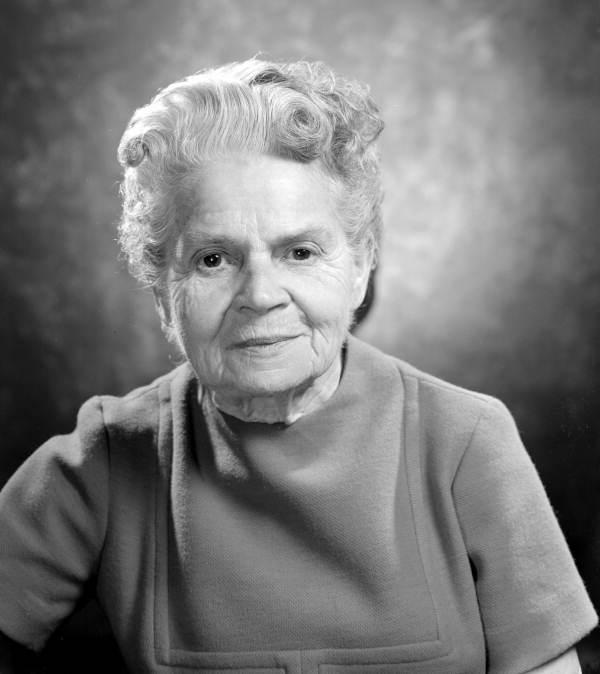 Portrait of FSU distinguished professor Dr. Anna Forbes Liddell - Tallahassee, Florida.