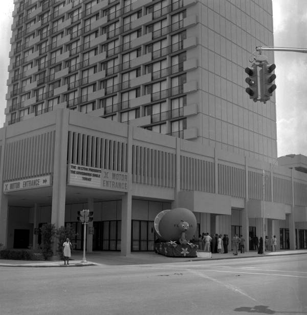 View of the Tallahassee Hilton hotel at 101 S. Adams St.