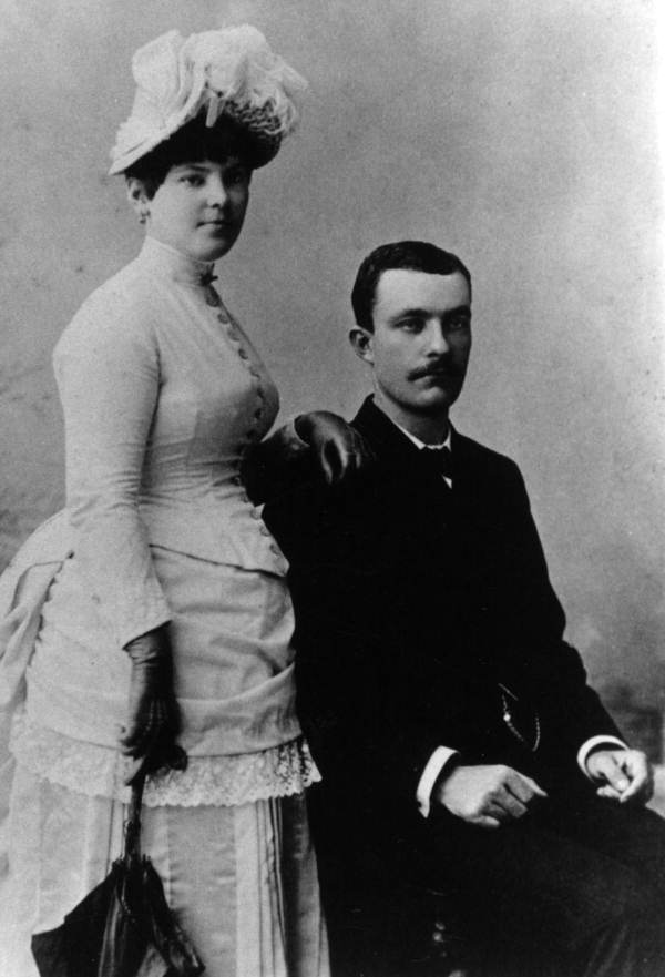 Portrait of Mr. and Mrs. Francis B. Carter - Tallahassee, Florida.