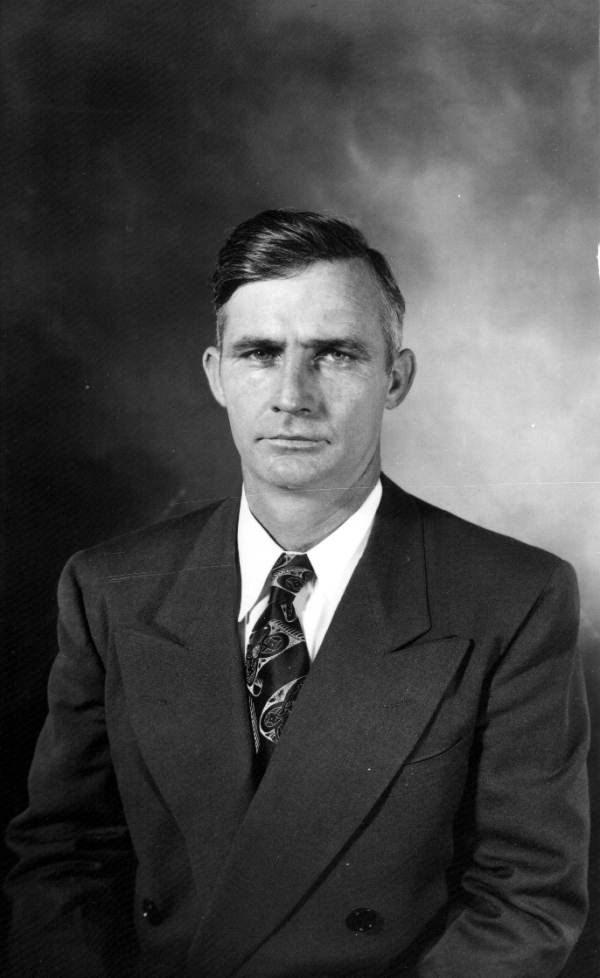 Portrait of an unknown man.