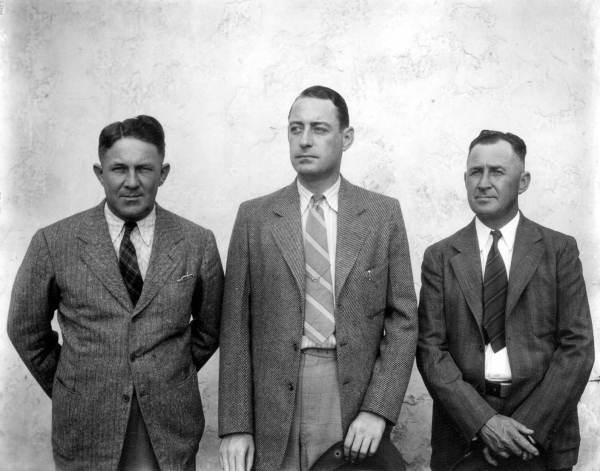 Three men.
